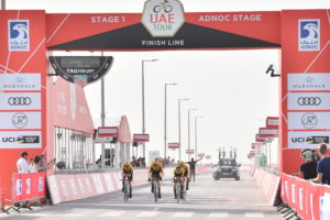 Team Jumbo – Visma wins Stage 1 TTT, Primoz Roglic wears the first Red Jersey