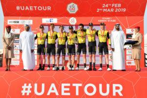 Team Jumbo – Visma flies to amazing victory
