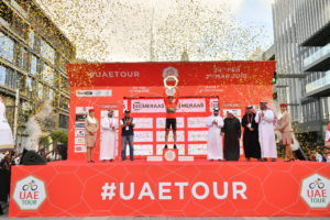 Primoz Roglic wins the UAE Tour, Sam Bennett wins Stage 7